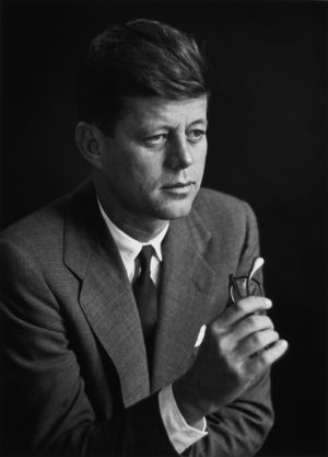 Senator John F. Kennedy, Boston, Massachusetts, Courtesy of the Estate of Verner Z. Reed